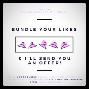 Bundle for private offer 💕